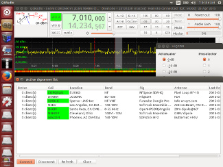 QtRadio in Skywave Linux