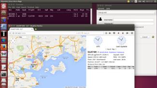 Dump1090 web interface in Skywave Linux