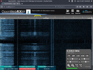 Using OpenWebRX and an RTL-SDR to examine FM broadcast subcarriers