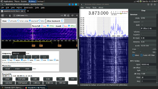 Internet streaming HF signals in RemoteSDRClient and the K3FEF WebSDR