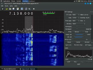 The Gqrx Spyserver Linux Client | Skywave Linux